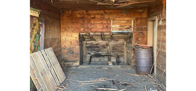 Dynamite discovered in attic of old barn