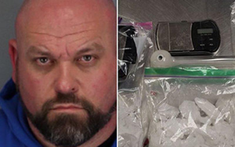 Man, chasing son, ends up in drug arrest