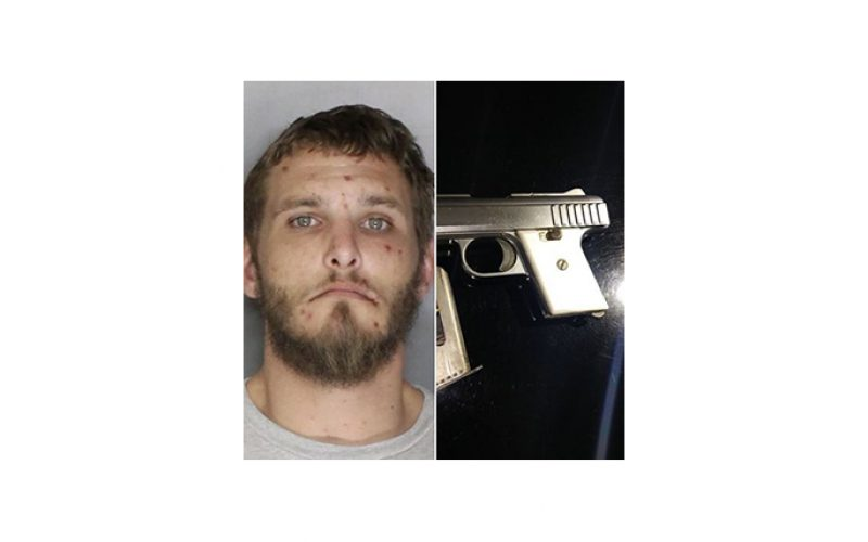Man arrested for pointing gun during family disturbance
