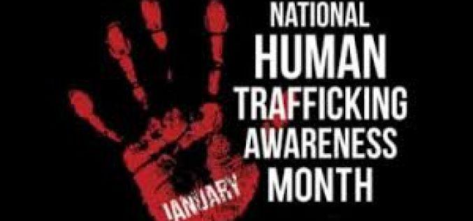 January is Human Trafficking Awareness Month