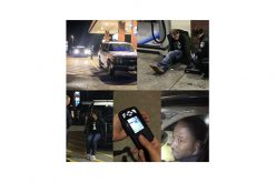 Thumbprint scanner, License plate reader aid in arrests