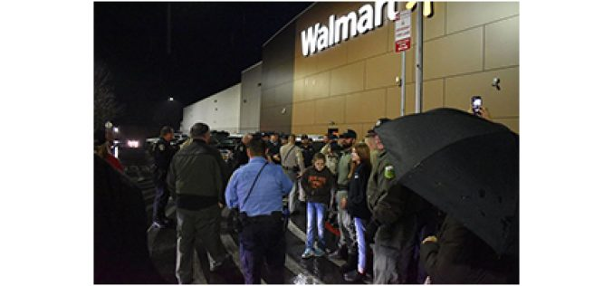 Shop With a Cop at Wal-Mart is a big Success