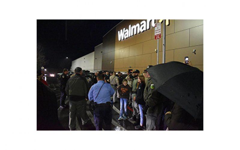 Shop With a Cop at Wal-Mart is a big Success