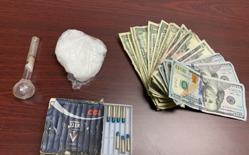 "Deputies respond to ""interrupted"" 9-1-1 call, arrest man on narcotics charges"