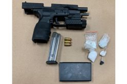 Wanted Salinas parolee allegedly caught with gun, drugs