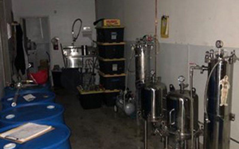 Shutdown – Dangerous Narcotics Lab Hidden in Suites