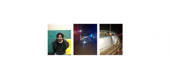 Felony DUI crash leads to arrest, resistance