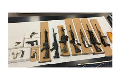 3 gang members caught on weapons charges