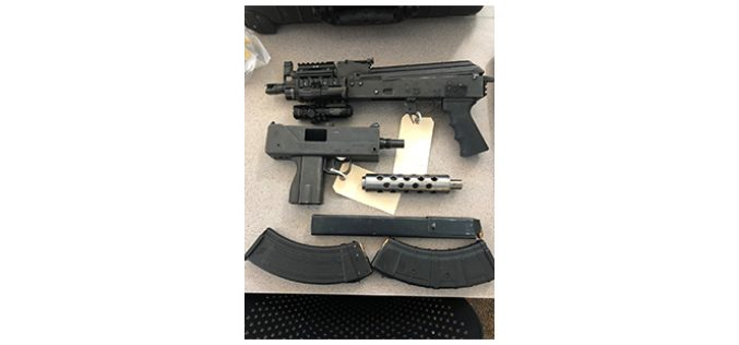 Santa Rosa felon arrested for gun and drug possession