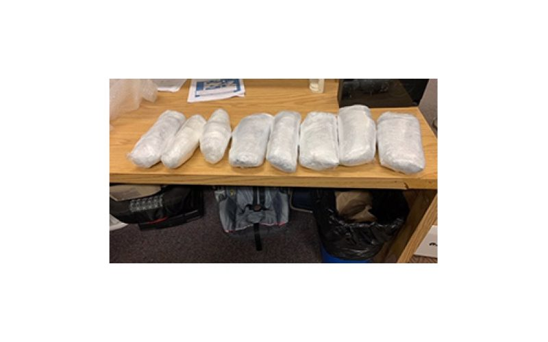 Defendant Found With 37 Pounds of Various Drugs Pleads Guilty