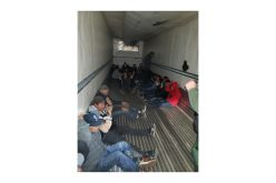 Tractor trailer driver tries to smuggle 26 illegals across the border