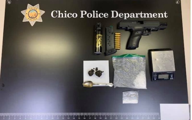 Man driving on suspended license allegedly caught with firearm, narcotics