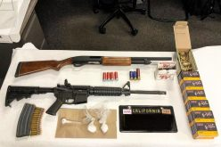 Traffic stop leads to discovery of guns and meth