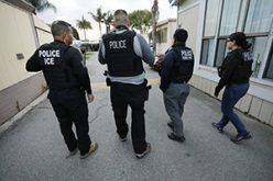 With masks at the ready, ICE agents make arrests on first day of California coronavirus lockdown