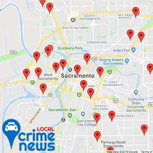 Map of the latest arrests in your area