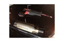 4 Persons Arrested on Suspicion of Stealing Catalytic Converters