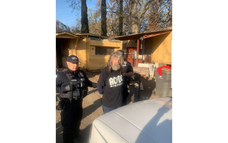 Felon at large spotted and arrested