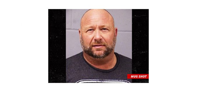 ALEX JONES 'INFOWARS' FOUNDER BUSTED FOR DWI