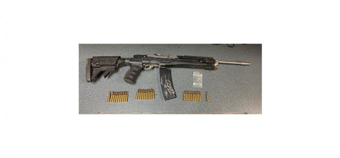 Three arrests, two rifles, lots of marijuana and other drugs