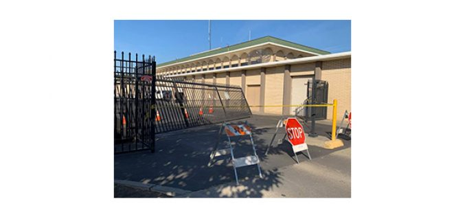 SPD News: Man Drives Into Police Department's Gate