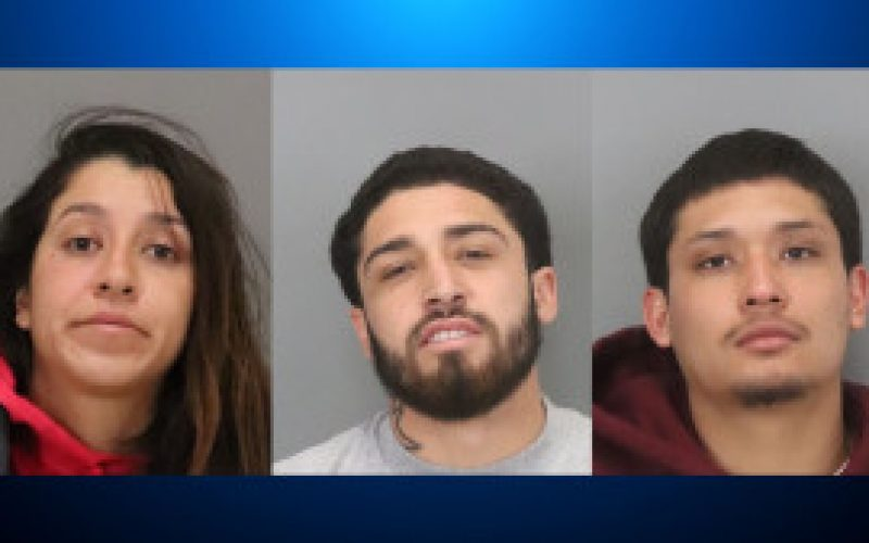 Witness Follows 3 Suspects Arrested for Armed Robbery of a Gas Station