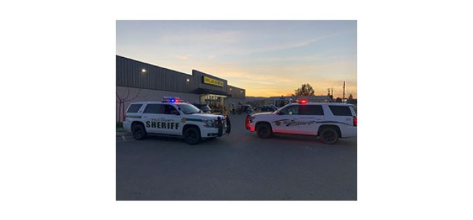 Man on a lawless spree stopped at the Dollar General Store