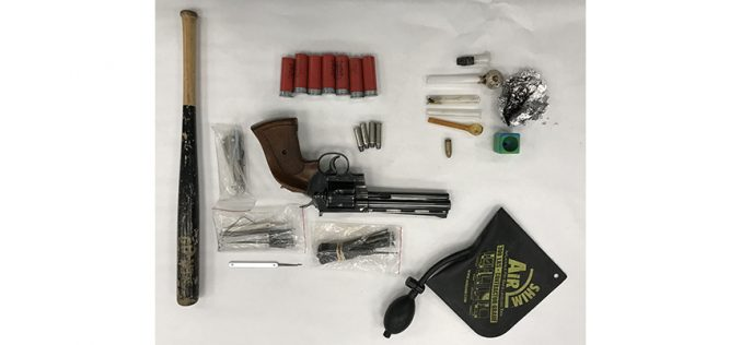 K-9 Unit on Patrol Arrests Probationer for Burglary, Drugs and Stolen Gun