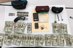 Traffic Stop Turns into an Arrest on Drugs and Firearms Charges