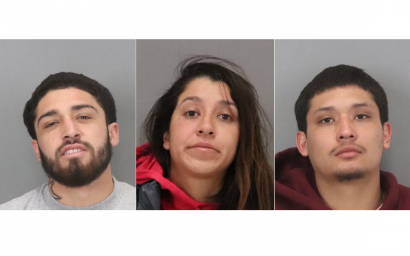 Palo Alto police arrest three suspects in armed gas station robbery
