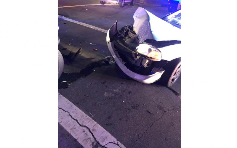 Salinas Police: Man crashes into patrol car during pursuit