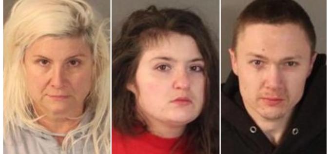 Three arrested after infant hospitalized for apparent drug overdose