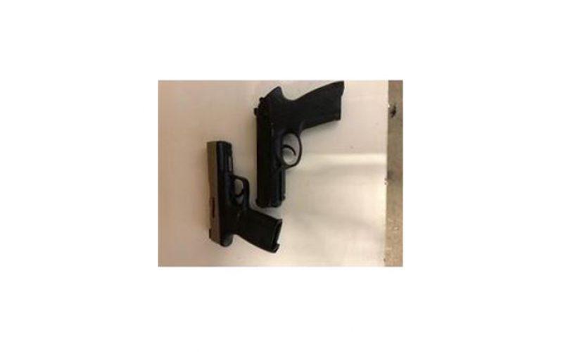 Guns Seized at Illegal Marijuana Drug-House Clamp Down