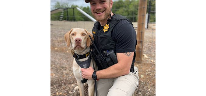 Meet our newest officer, K-9 Dexter!