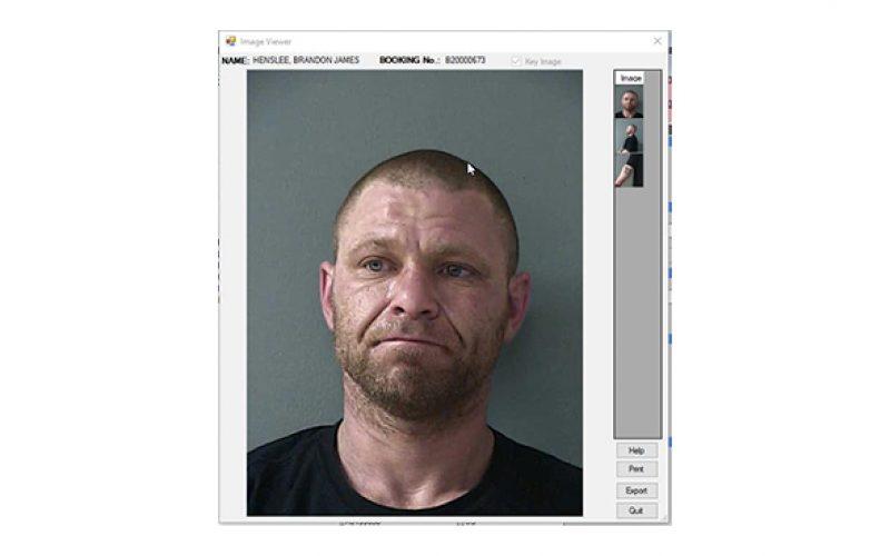 Burglary interrupted, one in custody, one outstanding