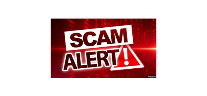 Be alert to online scammers