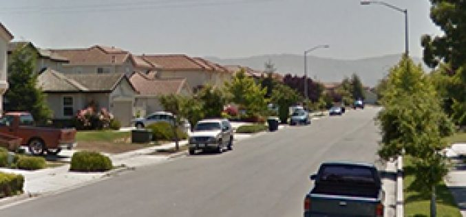 14-year-old female runaway caught in residential burglary