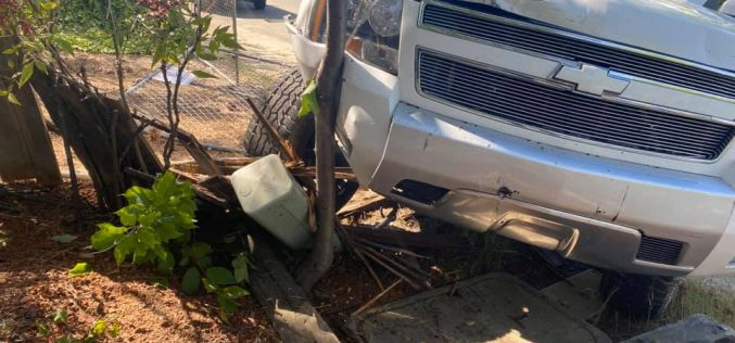 Grass Valley PD searching for evasion suspect who crashed truck, abandoned it with drugs inside