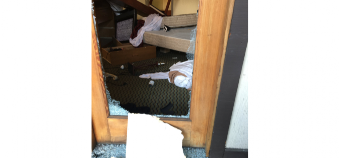 Man allegedly destroys hotel room, arrested on suspicion of felony vandalism