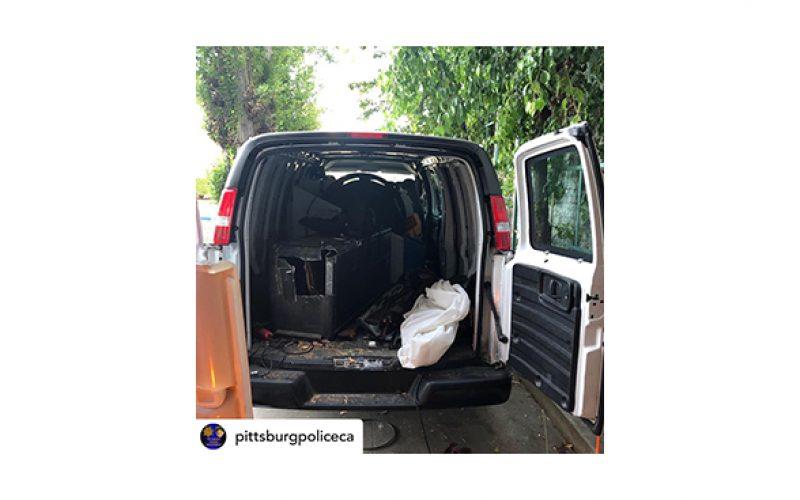 Men Caught Driving Stolen Van with Numerous Stolen Weapons