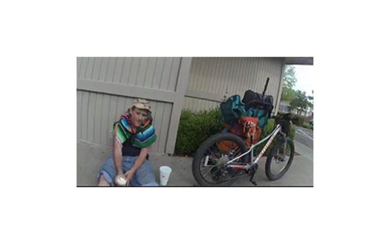 Bike shop employee spots stolen bike downtown