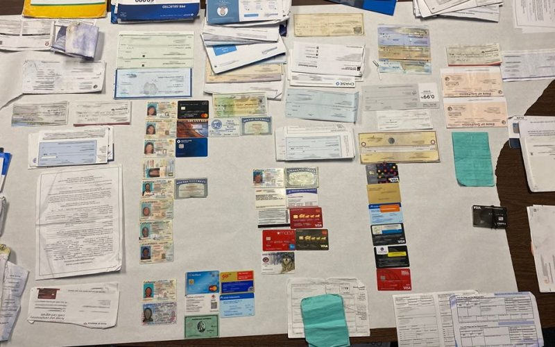 Known mail thief caught again with stolen mail