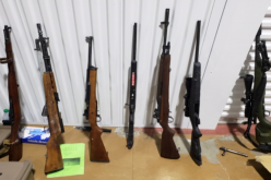 USBP: Border Patrol and Sheriff's Office Seize Stolen Weapons