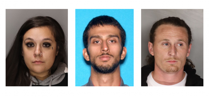 Investigation links arrestees to stolen vehicles, mail theft, other crimes