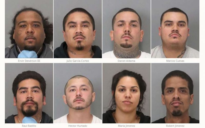SJPD Arrests 8 Suspects for Weapons, Narcotics and Other Crimes
