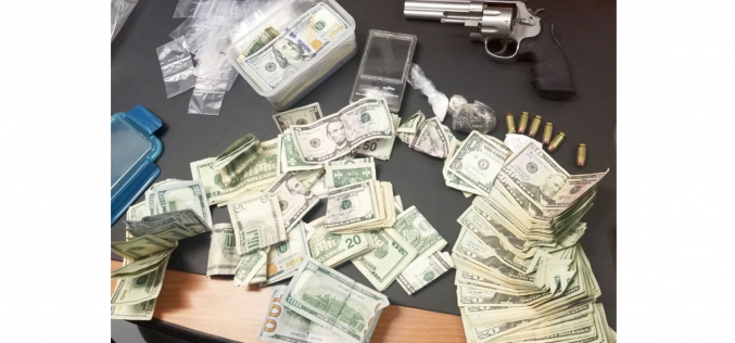 Early morning patrol nets arrest for possession of weapon, heroin