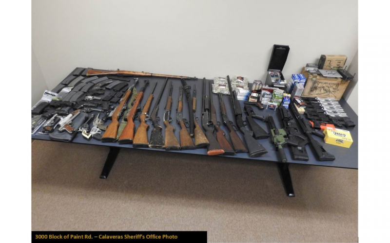 Guns, narcotics seized during service of marijuana cultivation search warrants
