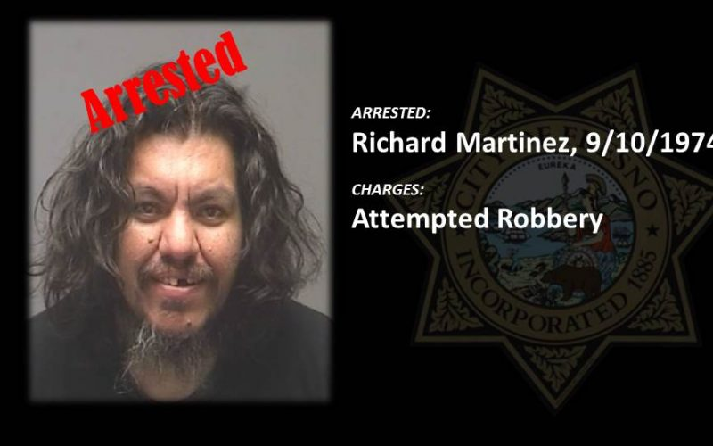 Man Arrested During Attempted Bank Robbery