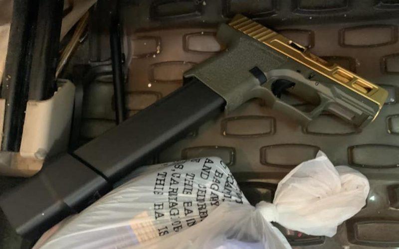 Police: Loaded handgun found during enforcement stop, driver arrested