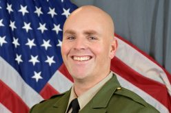 Sheriff's Sergeant, 38, killed by gunfire while pursuing bomb-making suspect