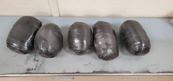Kettlebell-Packs full of Methamphetamine Hurled into the U.S.